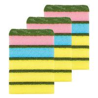 スリーエム (3M) スコッチ・ブライト (TM)  抗菌カラーたわし MIXセット 1セット(15個:1パック(5個入)×3パック)