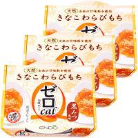 遠藤製餡 ゼロカロリーきなこわらびもち 108g 1セット(3個)