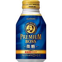 缶コーヒー サントリー プレミアム BOSS(ボス) 微糖 ボトル缶 260g 1セット(24缶入×2箱)