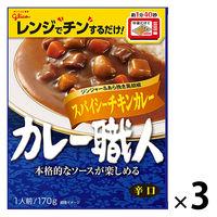 カレー職人スパイシーチキンカレー辛口3食