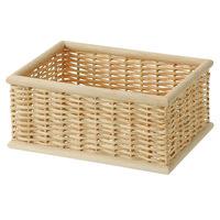 重なるブリ材長方形ボックス 1個