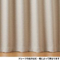ポリエステル二重織プリーツカーテン 杢B