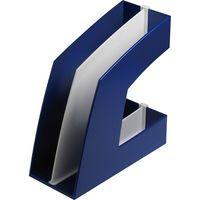 ファイルボックス タテ型 ブルー