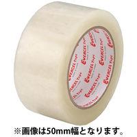 積水化学工業 エバーセル OPPテープ No.830NEV 0.09mm厚 幅75mm×長さ50m巻 クリア 1パック(3巻入)