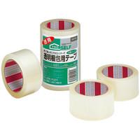 透明梱包用テープ No.3303 0.07mm厚 50m巻 J6040 1パック(3巻入) ニトムズ