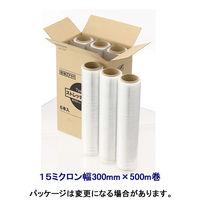 アスクル 司化成工業ストレッチフィルム15μ幅300×500
