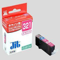 ジット リサイクルインク JIT-C321M マゼンタ(キヤノン BCI-321M互換)