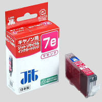 ジット リサイクルインク JIT-C07EM マゼンタ(キヤノン BCI-7eM互換)