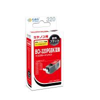 【アウトレット】G&G 互換インク HBC-320BK ブラック(キヤノン BCI-320PGBK互換) 1個