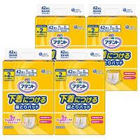 アテント 尿とりパッド 下着につける 男女共用 1箱(42枚入×4パック) 大王製紙