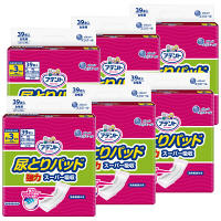 アテント 尿とりパッド 強力スーパー吸収(21cm×49cm) 昼用 女性用 1箱(39枚×6パック) 3回吸収 大王製紙