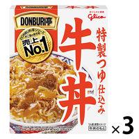 江崎グリコ DONBURI亭 牛丼 160g 1セット(3食入)