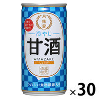 月桂冠 冷やし甘酒190g缶しょうが入り 30缶