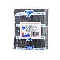 ビニタイPVCカット品 4×12 黒