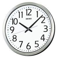 SEIKO(セイコークロック) 防湿・防塵型クオーツ時計 [クオーツ 掛け 時計] 防湿・防塵型 KH406S 1個 (直送品)