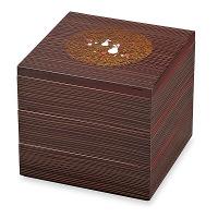 【在庫整理品】三段重 木目うさぎ 21cm 37-72370-8 正和