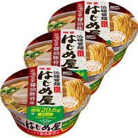 明星食品 低糖質麺 はじめ屋 糖質50%オフこってり醤油豚骨味 694553 3個