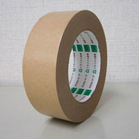 オカモト クラフトテープラミレス No.224 幅38mm×長さ50m巻 クリーム 1巻
