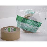 オカモト クラフトテープ No.2270 幅50mm×長さ50m巻 クリーム 1巻