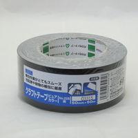 オカモト クラフトテープピュアカラー黒 シュリンク包装 50ミリ×50m 228 1巻