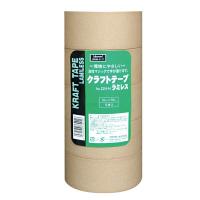 【ガムテープ】 クラフトテープラミレス No.224 0.14mm厚 シュリンク包装 50mm×50m クリーム オカモト 1パック(5巻入)
