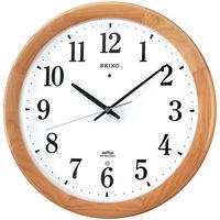 SEIKO(セイコークロック) 電波掛け時計 木枠 KX311B 1個 (直送品)