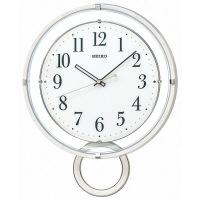SEIKO(セイコークロック) 振り子付電波掛時計 [電波 掛け 時計] 振り子付き PH205W 1個 (直送品)