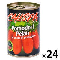 イタリア産 カリスパ ホールトマト 400g 1セット(24缶)