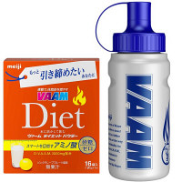 VAAM ヴァームダイエットパウダー 6g×16袋入 スクイズボトル付き 明治