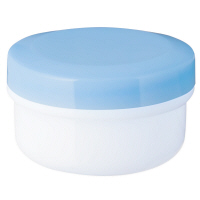金鵄製作所 アルファ軟膏壺(増量型軟膏容器) 60mL スカイブルー 1袋(20個入)