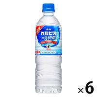 アサヒ おいしい水プラス「カルピス」の乳酸菌 600ml 1セット(6本)