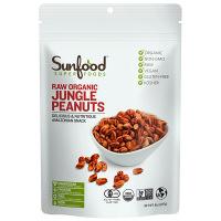 Sunfood(サンフード) オーガニック ジャングルピーナッツ 227g アリエルトレーディング スーパーフード
