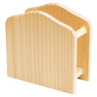 シンビ 木製ナプキンスタンド ブラウン D8 1台