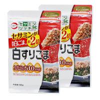 【アウトレット】カタギ食品 白すりごま セサミンリッチ 1セット(60g×2袋)