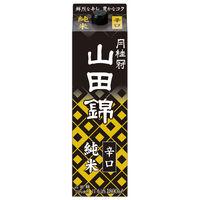 月桂冠 山田錦純米パック1.8L 1本