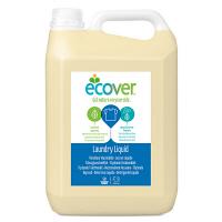 エコベール(ECOVER) ランドリーリキッド(洗たく用液体洗剤) 大容量5L 1箱(4個入)