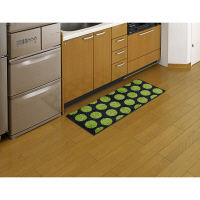 リング キッチンマット 45×120 緑