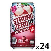 サントリー -196℃ ストロングゼロ 凍結ライチ 350ml×24缶
