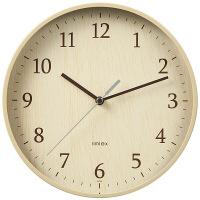 ノア精密 スタンダードクロック:フォレストランド ナチュラル 掛け時計 [スイープ] 直径225mm W-545 N 1個