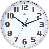 ノア精密 インテリアクロック:チュロス 掛け時計 [スイープ] 直径225mm FEW182 IV-Z 1個