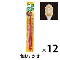 プレミアムケア 歯ブラシ 6列コンパクト ふつう 1セット(12本) 歯ブラシ