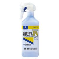 消毒用エタノールIPA 500mL スプレー付 1本 健栄製薬