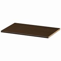 大洋 Shelfit(シェルフィット) エースラック/カラーラックM 追加棚板 標準タイプ 本体幅600×奥行400mm専用 ダークブラウン 1枚 (取寄品)