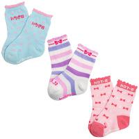 ミキハウスホットビスケッツ 靴下パック 1セット(3足入) 13cm ピンク ミキハウストレード