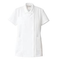 AITOZ(アイトス) ナースジャケット(ベーシック) 女性用 半袖 ホワイト M 861346-001