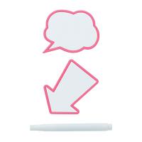 メッセージクリップ2P ピンク MCL-0011 1パック ライクイット
