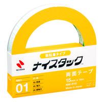 ニチバン ナイスタック(TM)弱粘着タイプ両面テープ 幅15mm×18m NW-R15