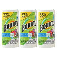 【並行輸入品】 キッチンペーパー Bounty(バウンティ) キッチンタオルプリント セレクトAサイズ 84カット 3本 P&G