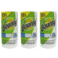 【並行輸入品】 キッチンペーパー Bounty(バウンティ) キッチンタオルホワイト(無地) セレクトAサイズ 84カット 1本 P&G