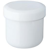 金鵄製作所 軟膏壺(定量型軟膏容器) 30mL ホワイト 1袋(50個入)